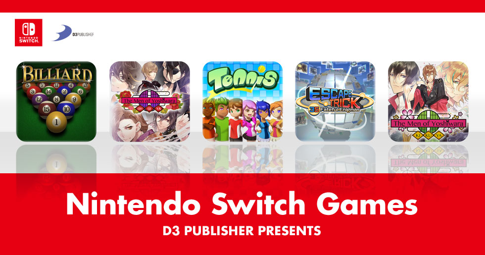 Nintendo Switch Games|D3 PUBLISHER